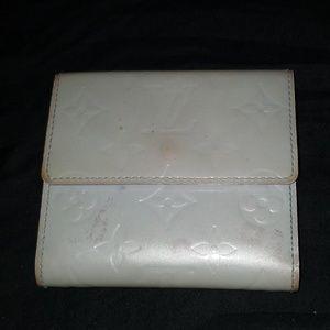 Authentic Louis Vuitton Elise Gray wallet
